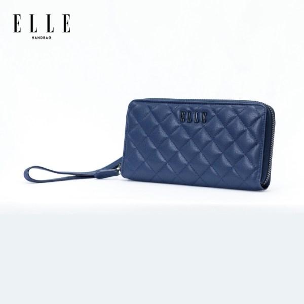 Elle Bag ELLE BAG กระเป๋า Zip Around Wallett รุ่น QUILTING (EWW337)