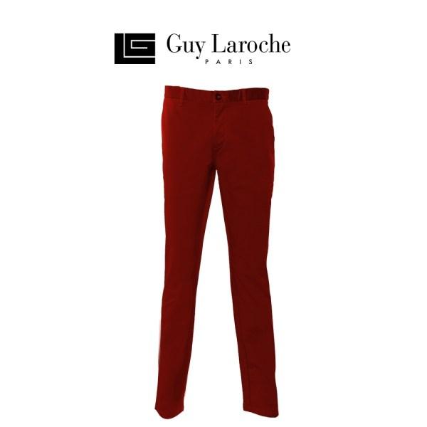 Guy laroche กางเกงขายาวลำลองทรง SLIM FITมีให้เลือก4สี (รุ่น DSC6203S0)