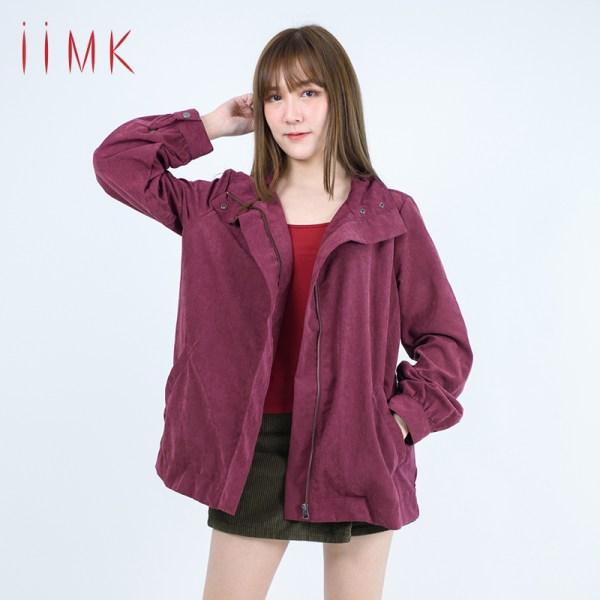 iiMK iiMK เสื้อ BOMBER JACKET (WKJ151)