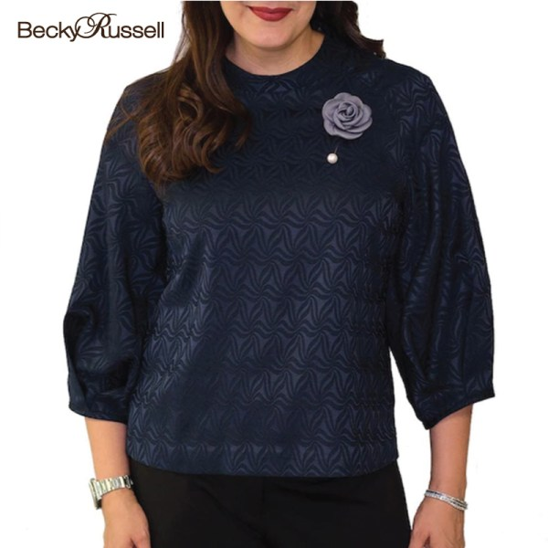Becky Russell Becky Russell เสื้อ Apparels Ladies Blouse (PRB376)