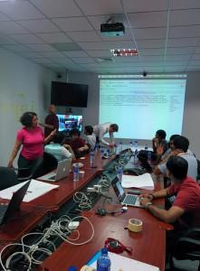 Sahana Strategic Planning Workshop in Progress