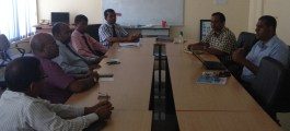 Maldives Meteorological Services Meeting with Officials