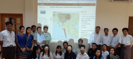 Myanmar trained their SAMBRO Users