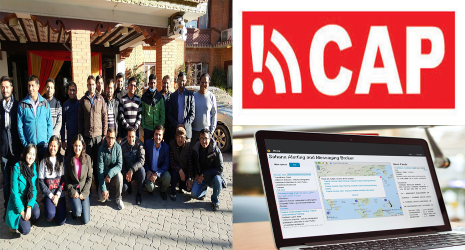 Building capacity on Common Alerting Protocol for Nepal
