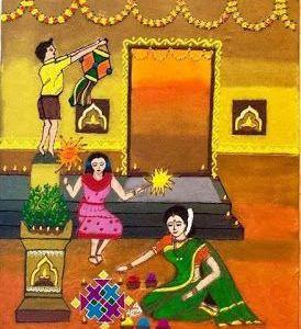 மறக்க முடியாத தீபாவளி  ('பரிவை' சே.குமார்) – Deepawali Ninaivugal Contest Entry 4