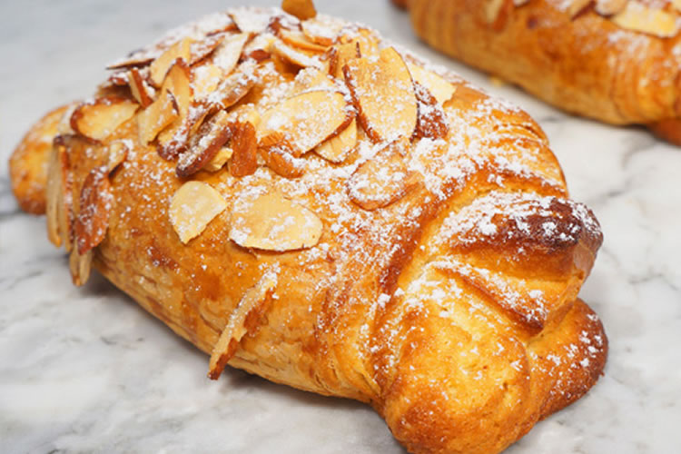 Give Sarah almond croissants
