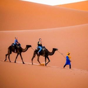 4 days camel trek from marrakech to erg chebbi
