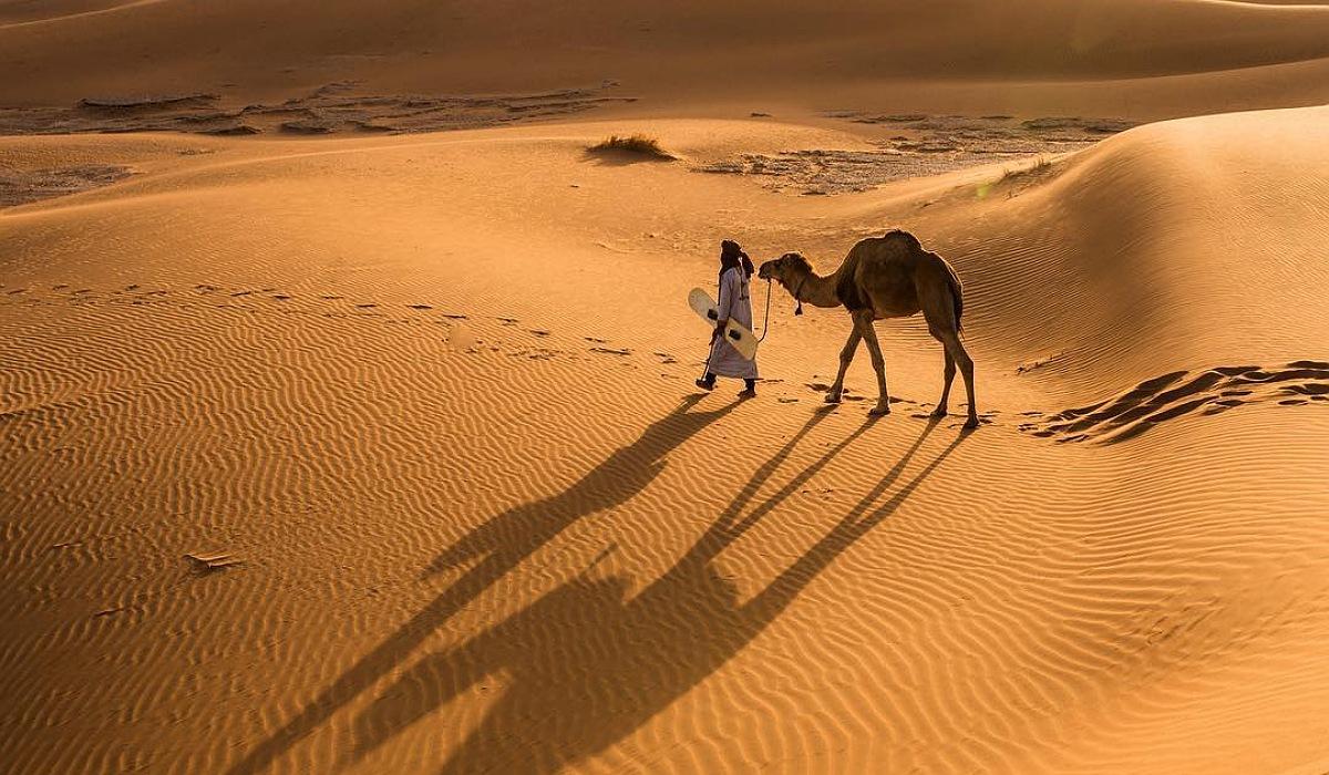 chegaga sahara desert morocco