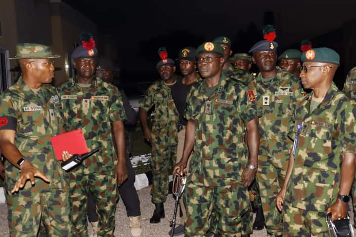 What COAS Told NDA He Will Do To Tackle Insecurity