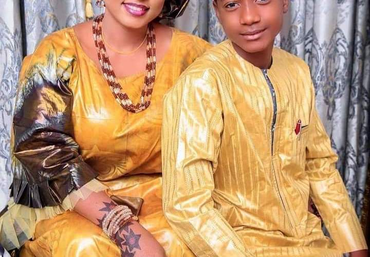 10 Latest Pictures of Hafsat Idris and Children