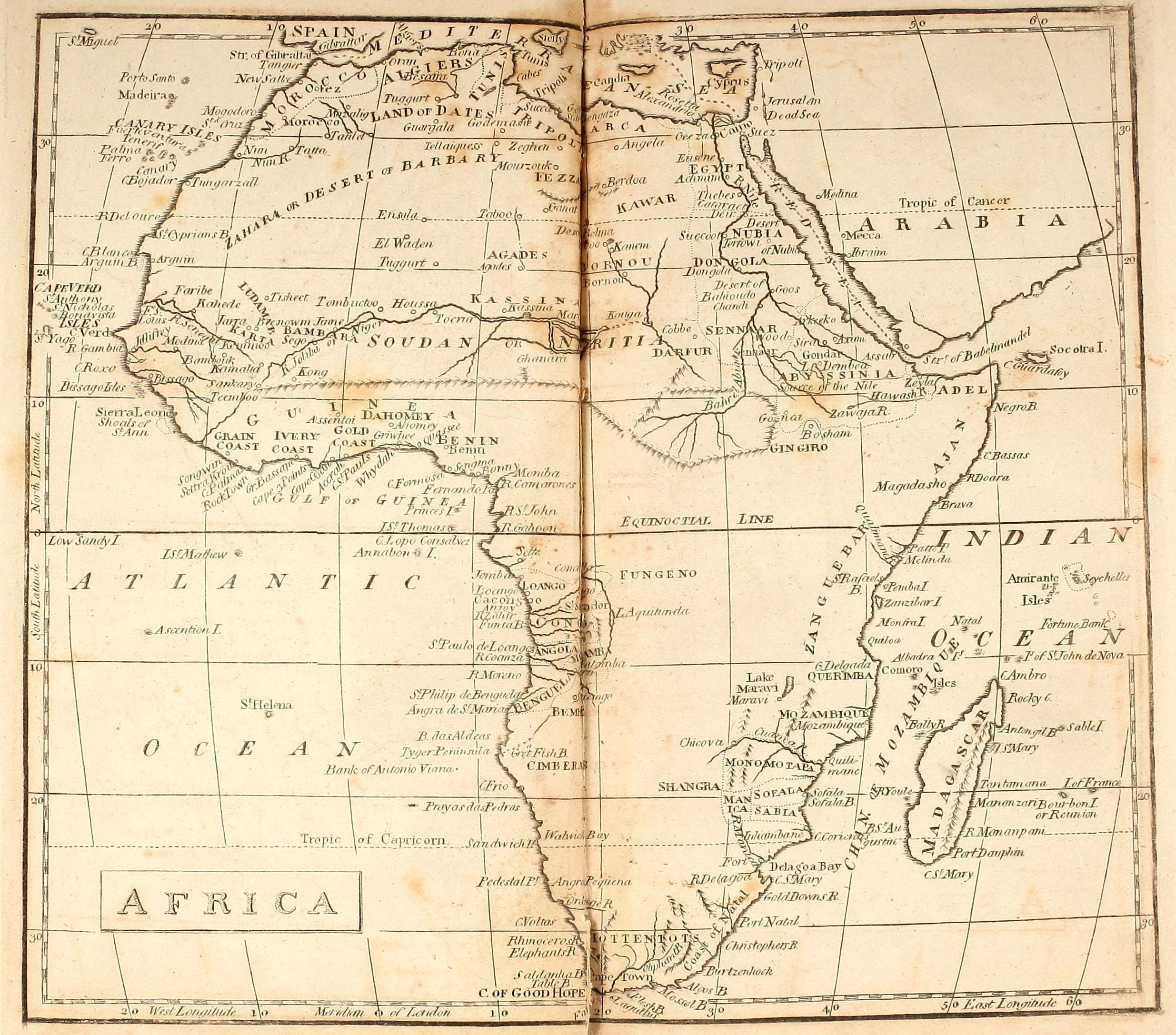 V Is For Vintage Sahara Maps