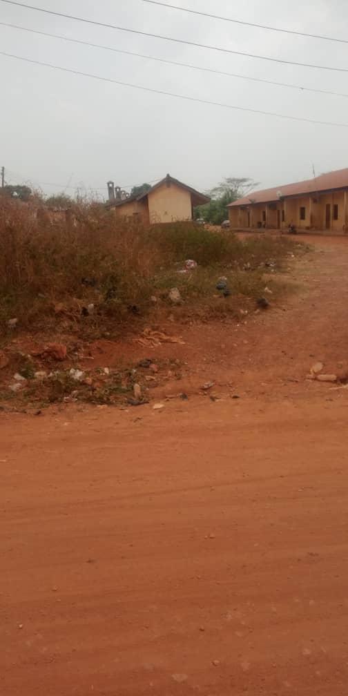 A part of Oda barracks, Adekunle Ajasin road, Akure.
