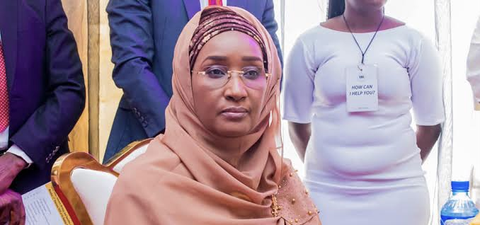 Humanitarian Affairs Minister Sadiya Umar Farouq