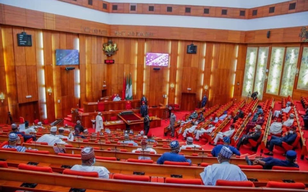 <div>Redeem Your Lost Honour, Reject Buhari's Aide, Onochie As Electoral Commissioner, Pyrates Confraternity Tells Senate</div>