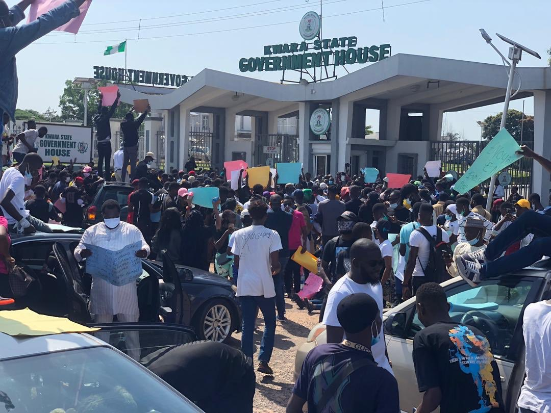 #EndSARS Protesters In Kwara