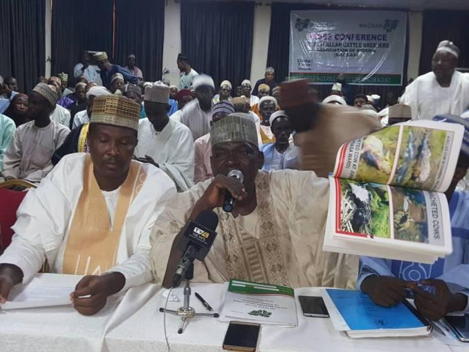 Miyetti Allah press  conference in Abuja on Sunday