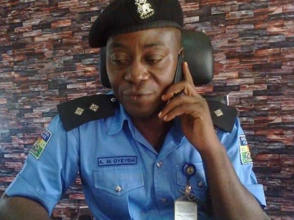 Police Public Relations Officer, DSP Abimbola Oyeyemi