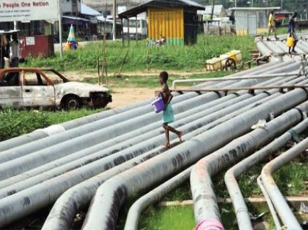 Oil Pipeline in Nigeria