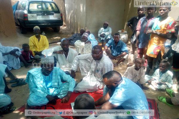 Affected farmers in Garin Mallam