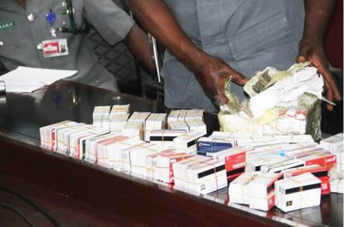 Lagos Airport Customs Intercepts Passenger With 2,886 ATM Cards Hidden In Packs Of Noodles 1