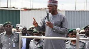 Nigeria's customs budgets are N1.6 billion for wells, N180 million for cleaning