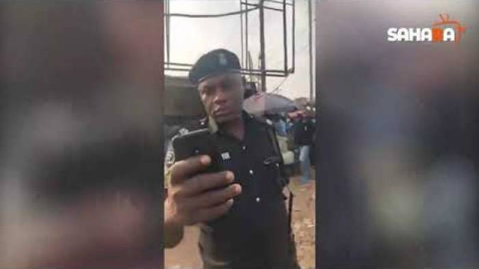 Lockdown: Man Narrates How Policemen Shot His Tyre, Threatened To Kill Him For Refusing To Pay Bribe