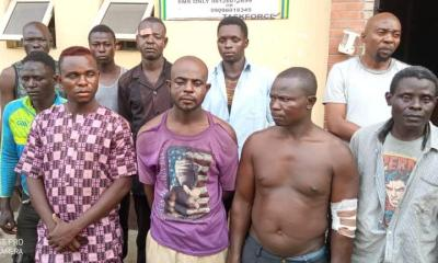 10 PERSONS ARRESTED FOR ATTACKING LAGOS TASKFORCE OFFICERS, AS GOVT IMPOUNDS 96 COMMERCIAL MOTORCYCLES ...Four Private Cars Confiscated for Driving Against Traffic