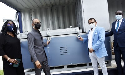 COVID-19: CACOVID donates Incinerator, 260 Oxygen cylinder to LASG