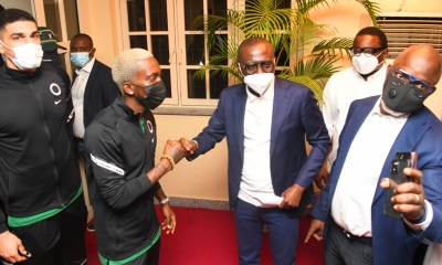 Sanwo-Olu Gifts player Three-Bedroom Apartment