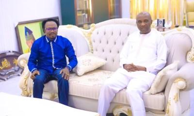 Primate Ayodele Pays Prophet Iginla A Condolence Visit In Abuja (PHOTOS)