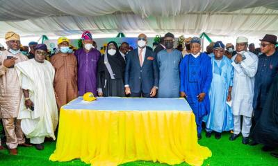 Abiodun turns sod, commissions roads to Nigeria's largest industrial estate