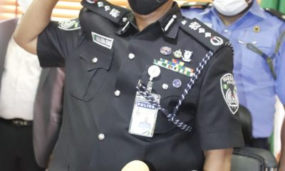 IGP USMAN ALKALI BABA ASSUMES DUTY AS THE NEW INSPECTOR GENERAL OF POLICE