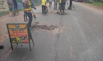 OGPWA embarks on Papalanto-Ilaro road repairs.