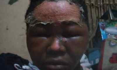 Lagos Business Woman in police net for bathing Staff With Hot Water