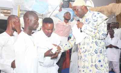 Primate Ayodele Surprises Journalist, Blind Man As Church Holds Choir Concert