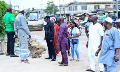 Adeyemi Road Construction: Oshodi Isolo LG to Complement On-going Efforts