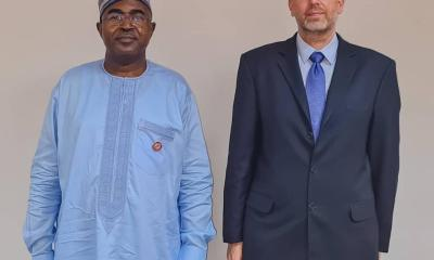 NDLEA Receives €2 Million World-Class Narcotic Detection Dog Supports from German Government
