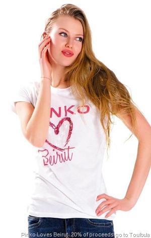 Pinko loves Beirut