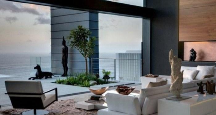 White-sofa-modern-chair-sea-view-home-665x443
