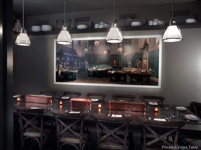 private kitchen table