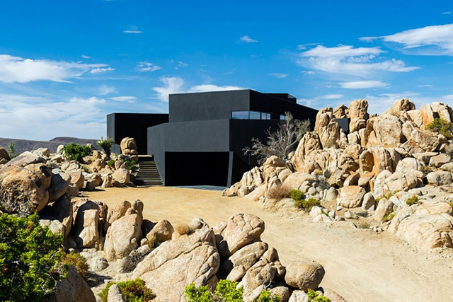 The Black Desert House