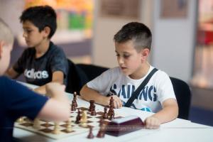 "Najmlađi šampion: Aleksa Mitrović (ŠK ""7.oktobar"")"