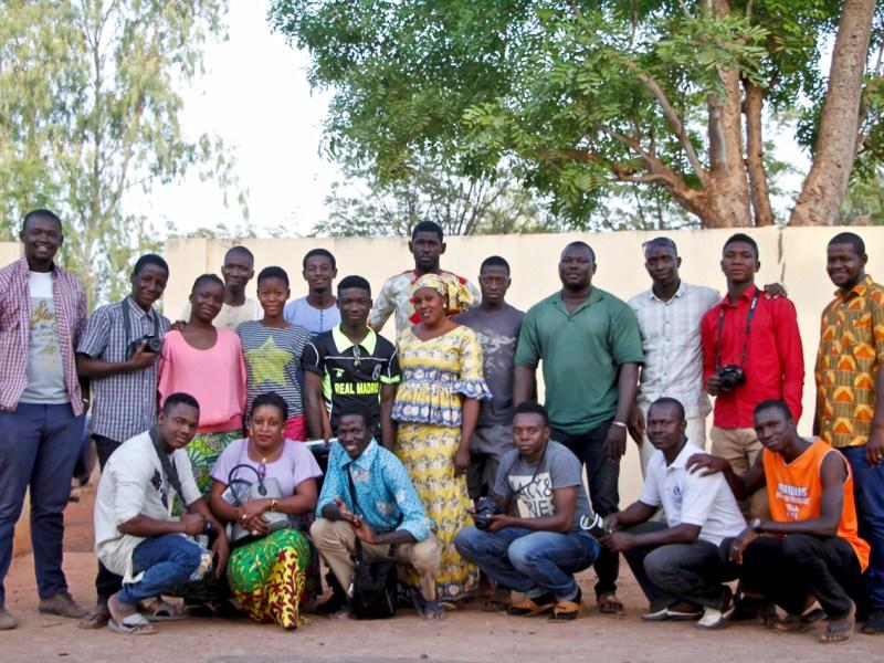 La commune de Kaladougou sort les troupes « Michi » et « Faïda » pour accueillir l'ONG I4Africa
