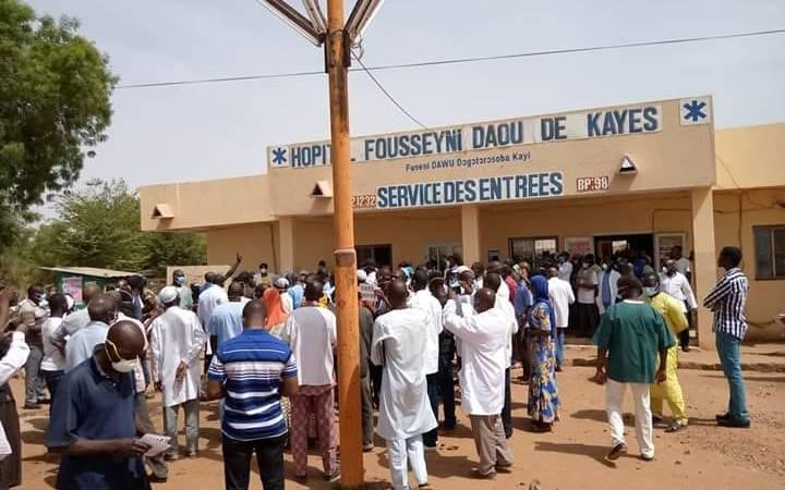 Coronavirus à Kayes : mésintelligence entre les autorités locales et les syndicats de la santé