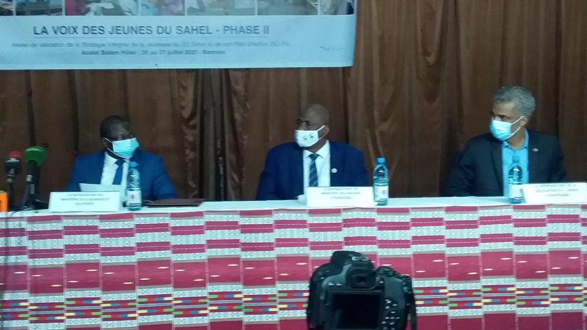 G5 Sahel : à Bamako, atelier de validation de la «Stratégie Intégrée de la Jeunesse» et son Plan d'action