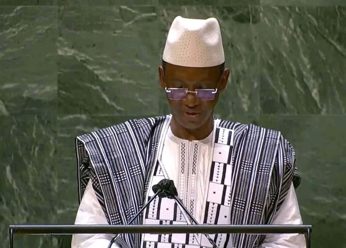 Au Mali, une « transition de rupture qui porte l'espoir de guérir », plaide Choguel K. Maïga à l'ONU