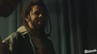J. Cole Drops a New Freestyle in Dreamville BTS - WATCH