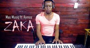 Mas Musiq ft Aymos, DJ Maphorisa & Kabza De Small - Zaka (Romeo Makota Piano Cover)