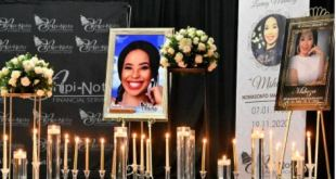Check out photos from Mshoza's memorial service