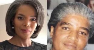 Connie Ferguson's sister shares snap their mom